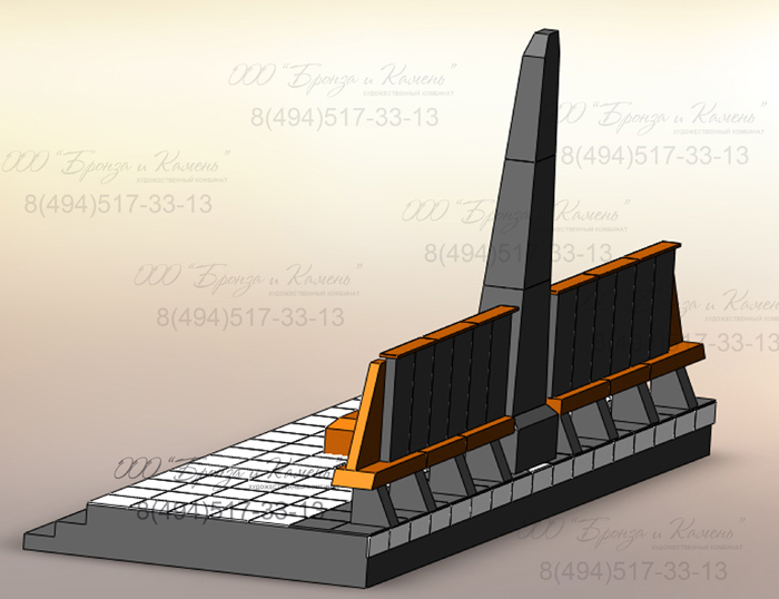 Проект городского памятника