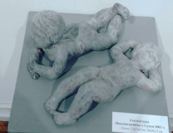 Ляля Хурхумал. Скульптор.