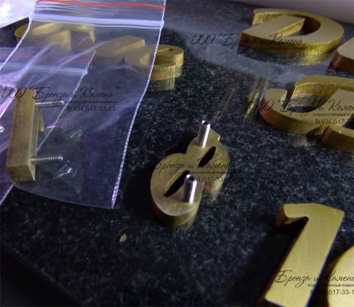 Изготовление букв из металла
